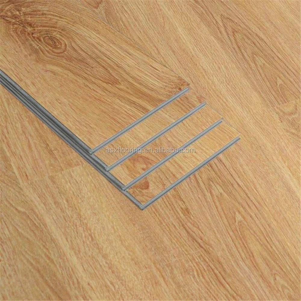 Пластиковый деревянный ламинированный пол без клея виниловый пол