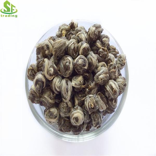 Natural Flower Smell Organic Dragon Pearls Tea Jasmine pearls Tea - 4uTea   4uTea.com