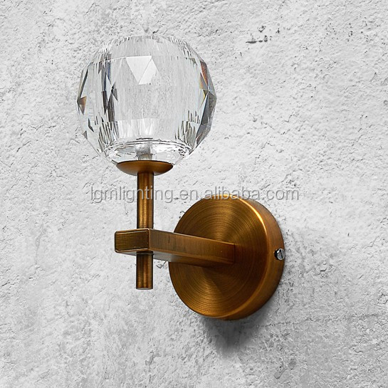 cuivre lampe de mur de couleur grange bend vintage applique murale w4031 lampe murale id de. Black Bedroom Furniture Sets. Home Design Ideas
