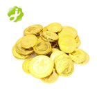 Color Plastic Plastic Customized Plastic Token Coin Promotion Custom Cheap Different Kinds Gold Color Plastic Token Coin