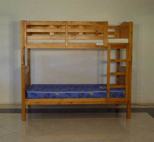 Solid Timber King Single Size Bunk Bed Buy Wood Bed Solid Wood Bunk Bed Kids Bunk Wood Bed Product On Alibaba Com