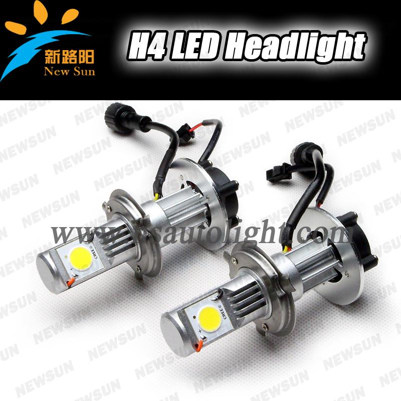 high power 50w 1800 lumens super bright car headlight led bulb h4 auto headlamp 12v 24v head. Black Bedroom Furniture Sets. Home Design Ideas