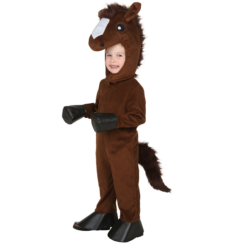 Kids horse carnival costumes cosplay Little Boys' Happy Horse Costume