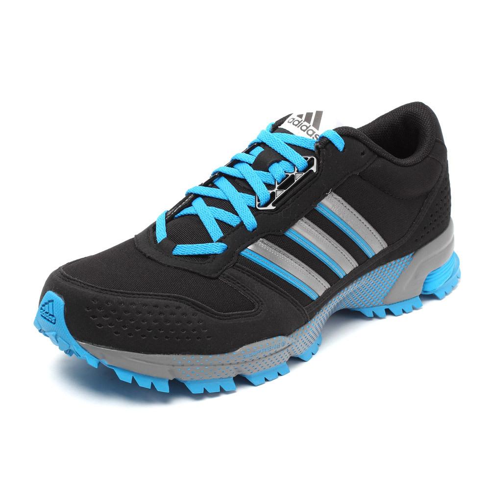 Adidas Marathon Shoes Men Black