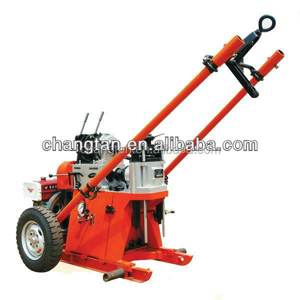 GY-100 small and portable soil testing drilling rig SPT