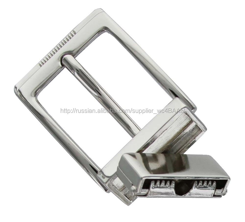 Высокое качество на хромированного металла реверсивный зажим пряжки ремня