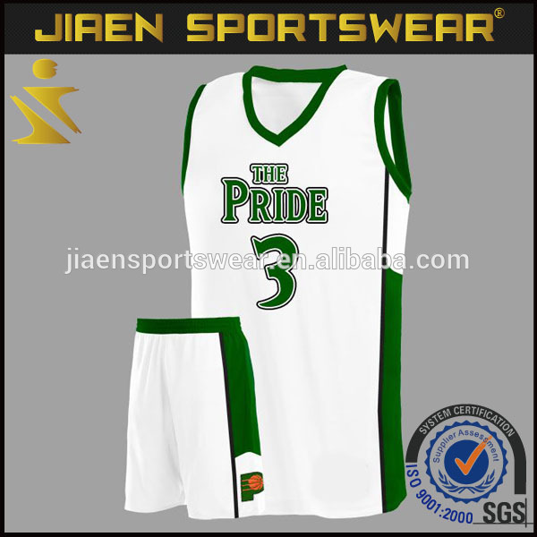 Green And White Basketball Uniform Design Wholesale Youth Basketball Jerseys And Shorts - Buy Basketball Jersey And Shorts Designs,Green And White ...