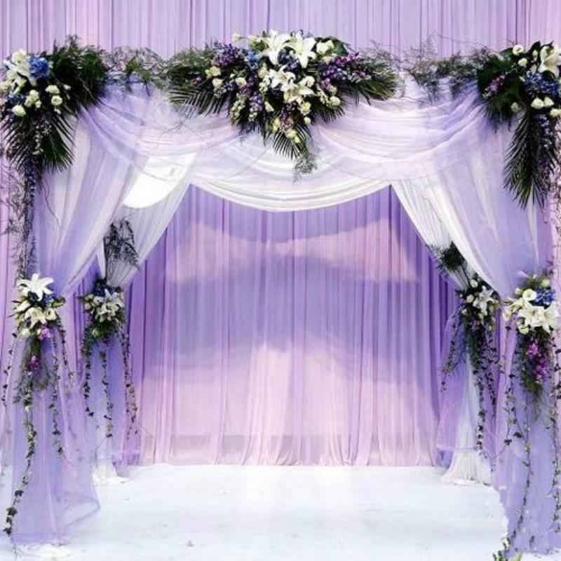 Wedding Arch Decorations Fabric: 2016 Silk Flower Heart Shaped Arches Wedding Decoration