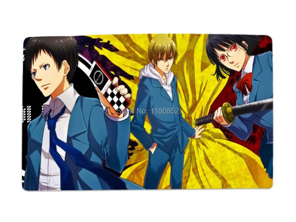 Durarara Anime Characters Desk Amp Mouse Pad Table Play