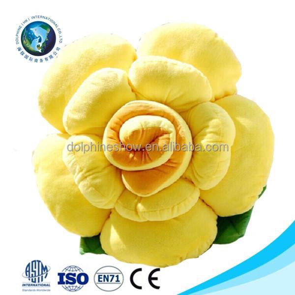 fashion new valentine gift plush yellow rose pillow cushion cute stuffed soft plush flower shaped pillow buy flower shape pillow plush flower shaped