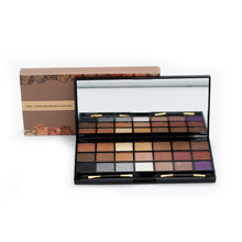 Miss Rose Shimmer Eye Shadow Makeup Palette 21 Color Glitter Matte Eyeshadow Palettes With 2 Brush Cosmetics Make Up Set