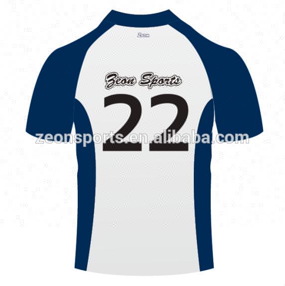 Новая спортивная футболка для регби с сублимационным принтом, быстросохнущая, Джерси для крикета, рубашка поло из 100% полиэстера