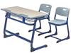 สีฟ้าและเก้าอี้