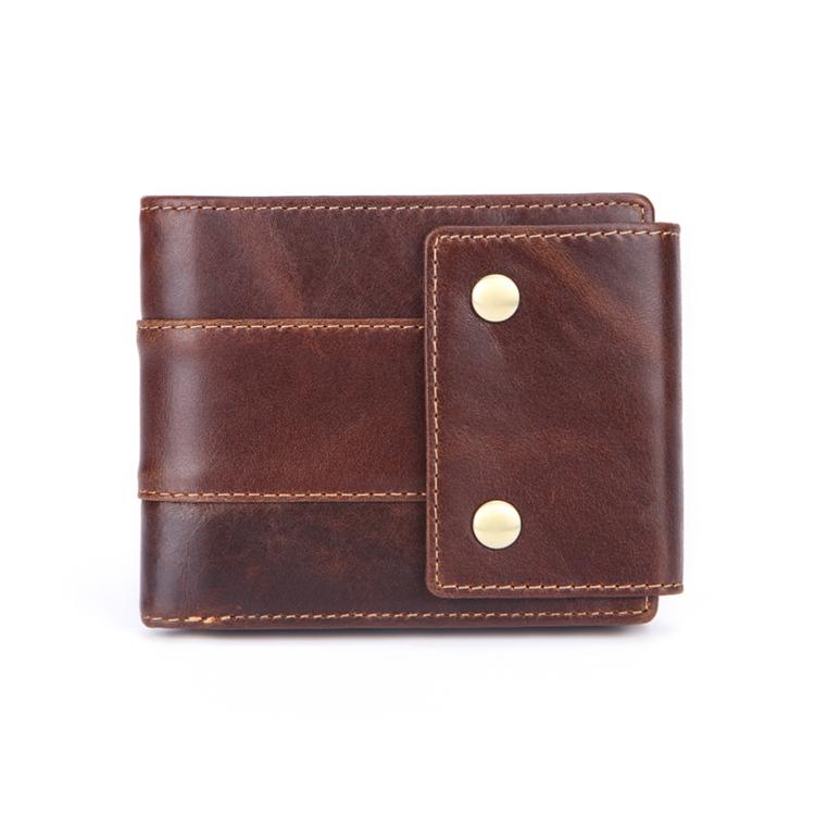 Wholesale Minimalist Vintage Slim Leather Wallet Men