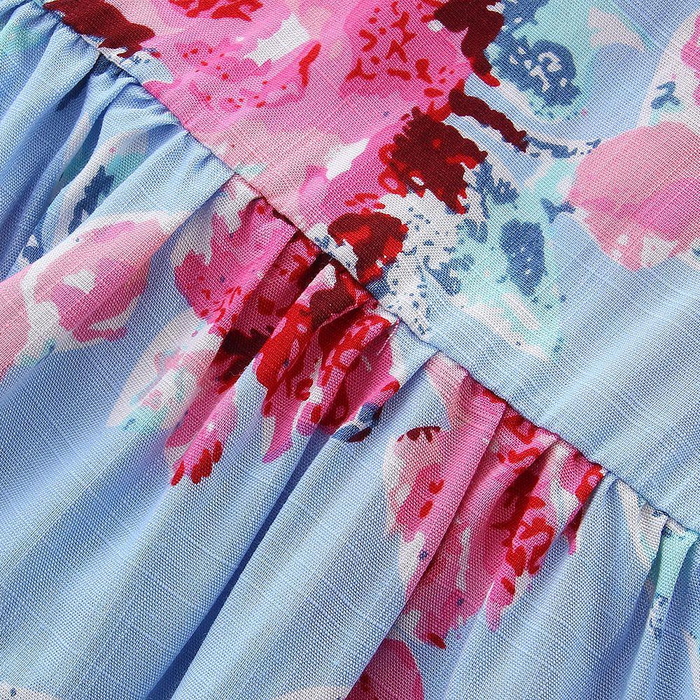 Мечта Колыбель сарафан 2018 Новый дизайн Детские Платья с цветочным рисунком