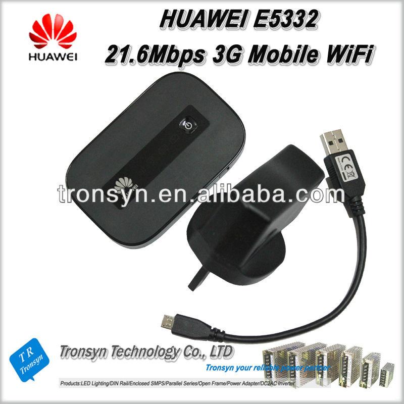 Original Unlock HSPA+ 21.6Mbps E5332 3G Mobile Hotspot And 3G Mobile WiFi Router
