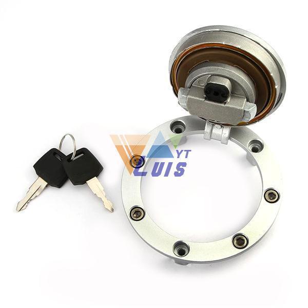 Мотоцикл с чпу крышка топливного бака крышка топливного газа крышка топливного бака блокировки двери для Honda CBR250 1100xx 600 900 400 BROS400 bros650
