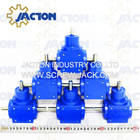 durable and high effciency jtp65 micro right angle gearbox for light duty 90 degree gear drive