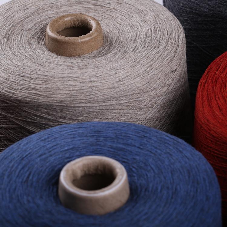 Высококачественная цветная шерстяная пряжа из 100% акрила