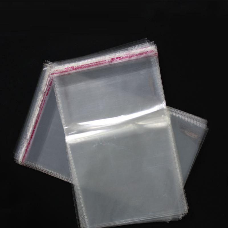 Best Quality Self Adhesive Food Grade Safe Clear Eco-friendly Fashion BOPP Bag Cloth Plastic Bag