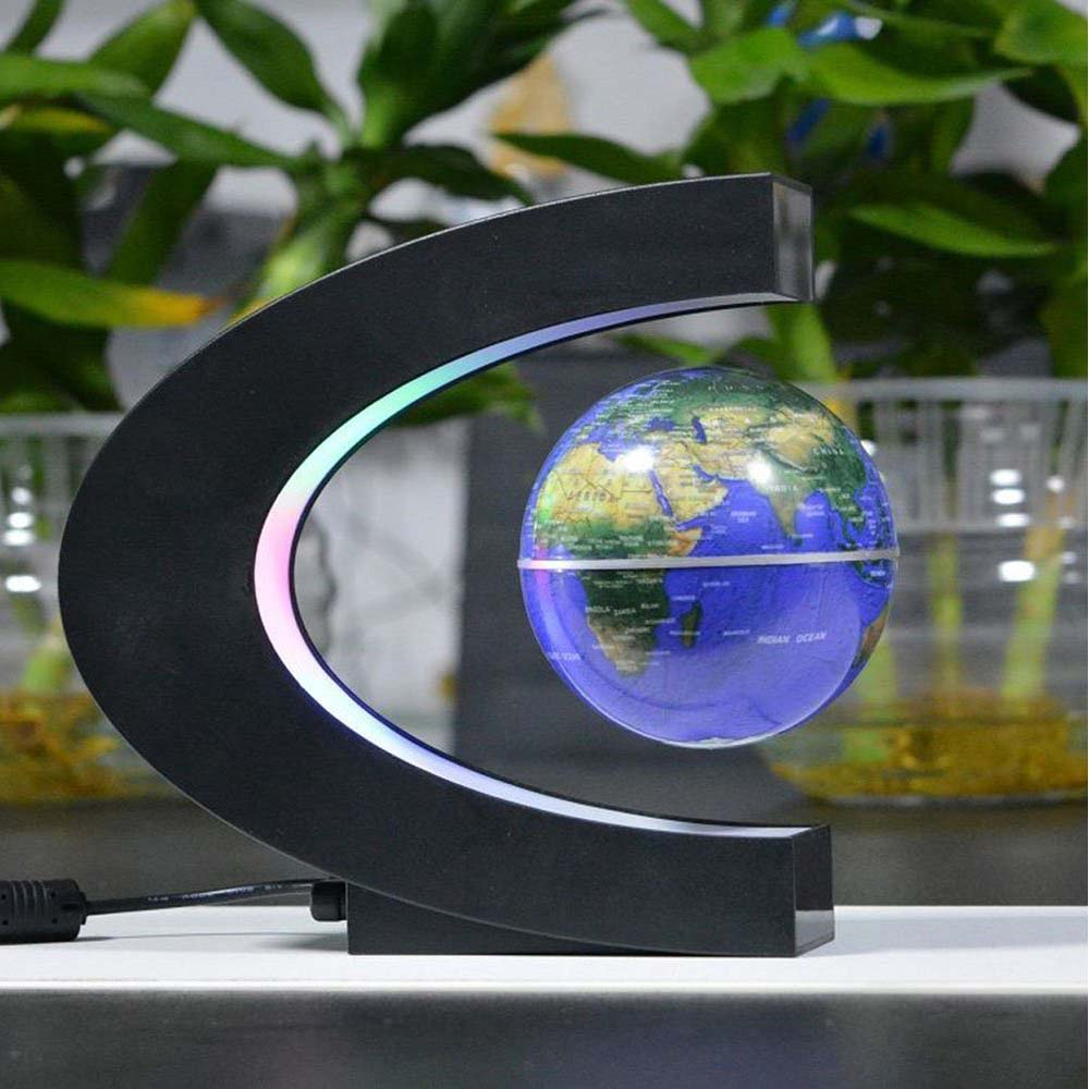 Floating Globe with LED Lights 6