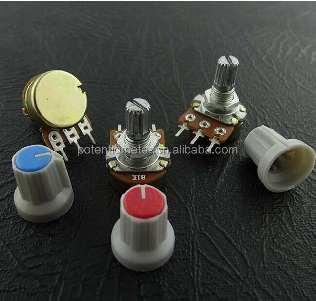 Single Mono100K ohm lin Linear Log Logarithmic Switch Pot Potentiometer And Knob