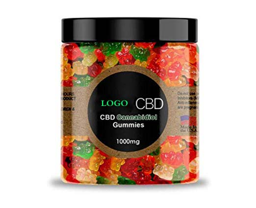 Professional Quality Private Label CBD Extract 1000mg CBD Gummy Bear Candy for health care