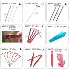 Stake Tents Tent Stakes Assorted Camping Stake Nail Peg And Tents Pole