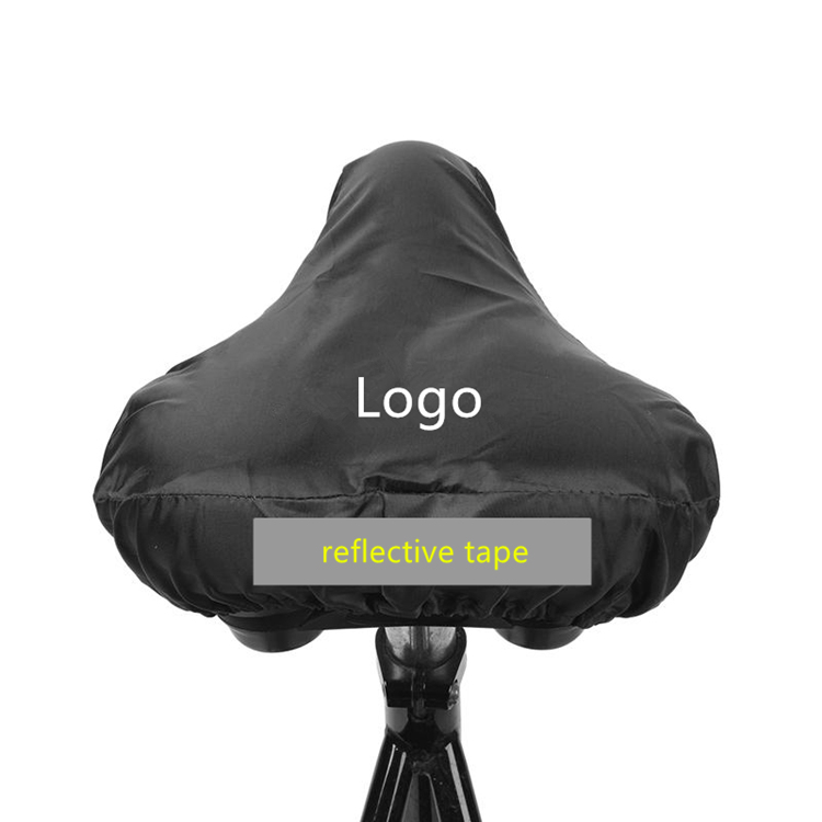 Water Resistant Customized Advertising Bicycle Seat Cover For Bike Accessories