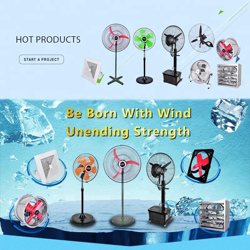 Kanasi PFD1 26 30 Inch OEM Outdoor Water Mist Stand Fan Spray