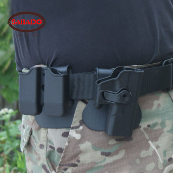 Glock 17 19 Gun accessories tactical rotatable Holster