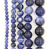 Sodalite gemstone bead