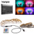 1M To 5M LED Backlight TV Strip Tape RGB 5050 SMD Non Waterproof Television Lighting Decoration+ DC 5V USB Remote Controller