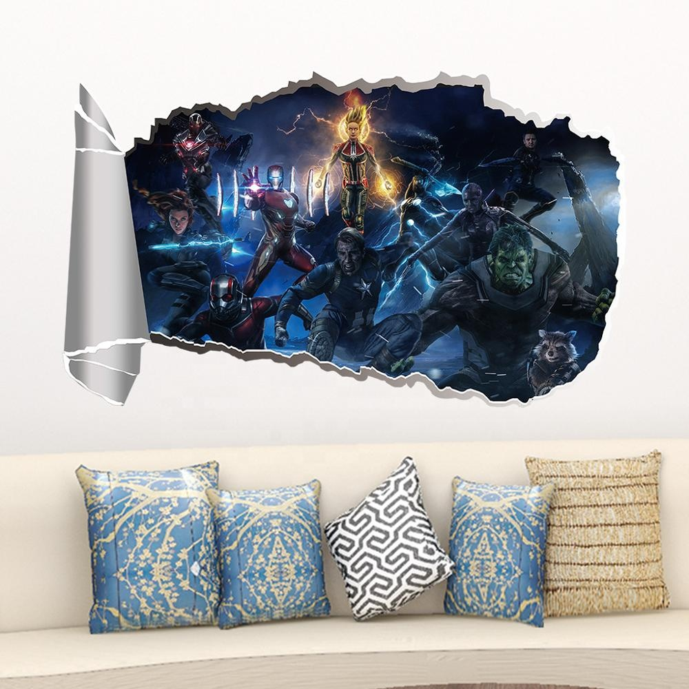 Abstract Marvel Decals