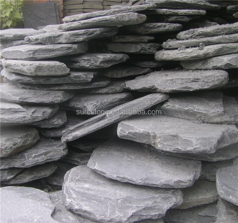 Недорогой натуральный круглый шаговый камень для украшения сада