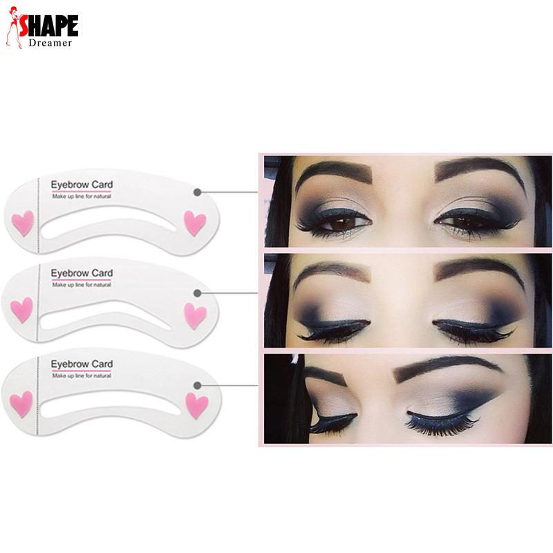 Eye makeup stencils
