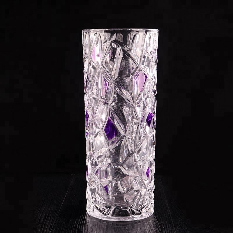 Modern K9 Crystal Glass Flower Vase For Decoration Buy Glass Vase Flower Vase Painting Designs Ceramic Vase Product On Alibaba Com