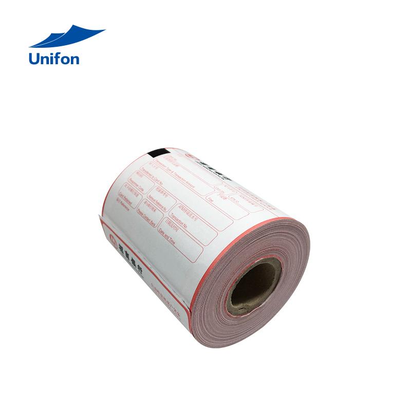 ATM printed thermal paper roll NCR, Diebold, Fujitsu,