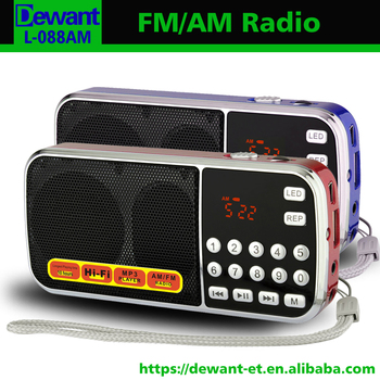 L-088AM fm&am radio, am-fm 2 band radio receiver