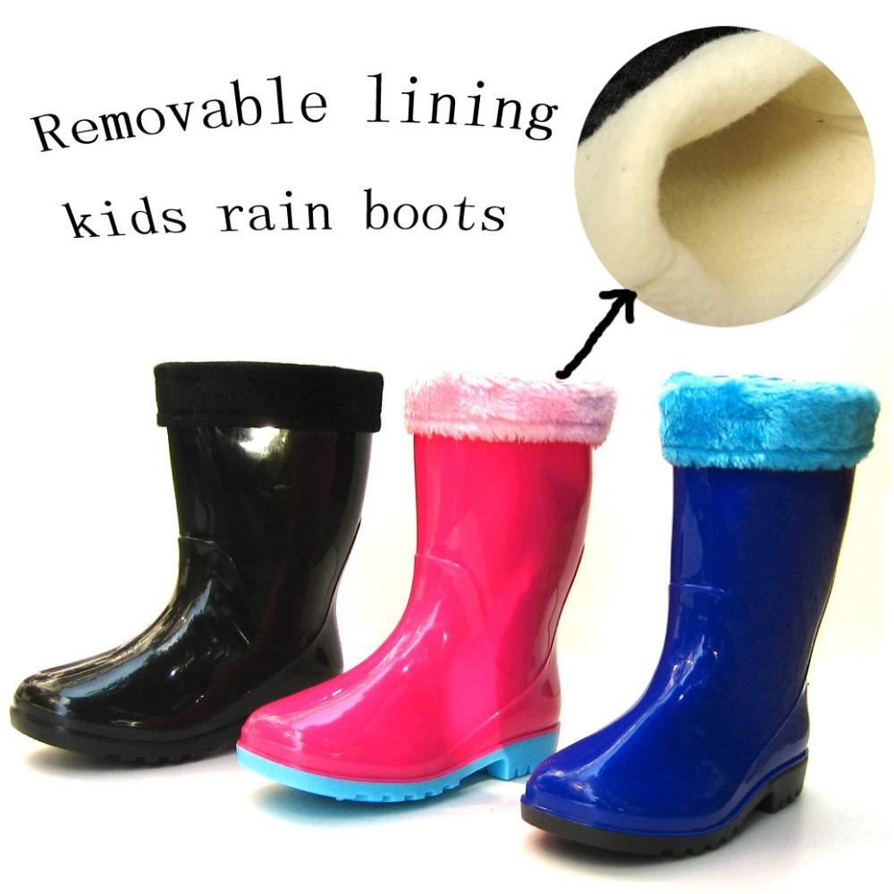 Warm Rain Boots Boot Ri