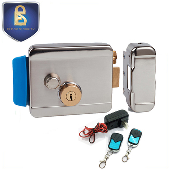 Double cylinder Remote Control Electric Gate Lock for access control