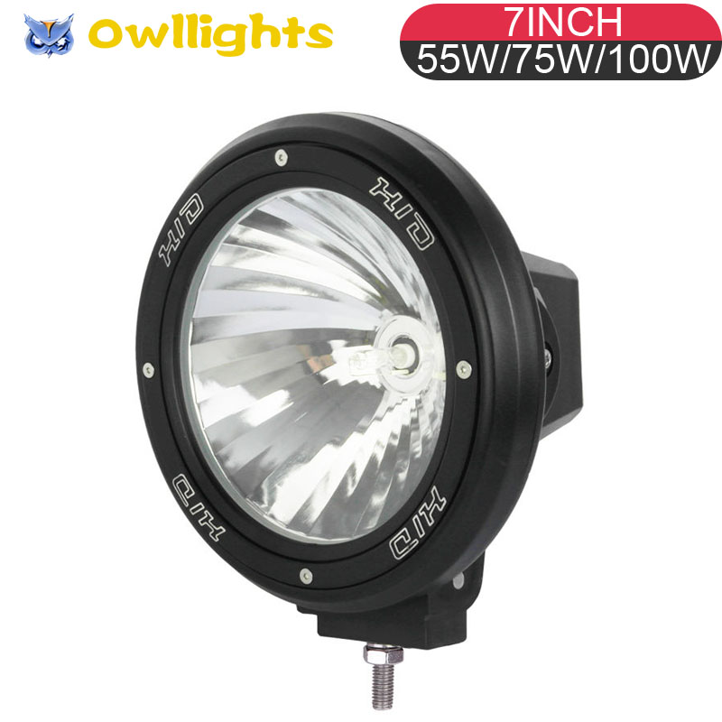 ABS Plastic Light Lens Jeeps SUV HID Driving Spotlight Work Lamp Clear Cover