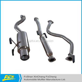 Racing AUTO EXHAUST SYSTEM HIGH PERFORMANCE CIV H/B DX 96-00 Catback system with high quality