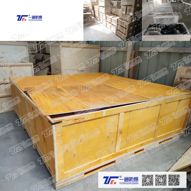 70KW(238849BTU) Explosion Proof Cabinet Air Conditioner Explosion Proof Air Conditioning  for Oil Chemical Military