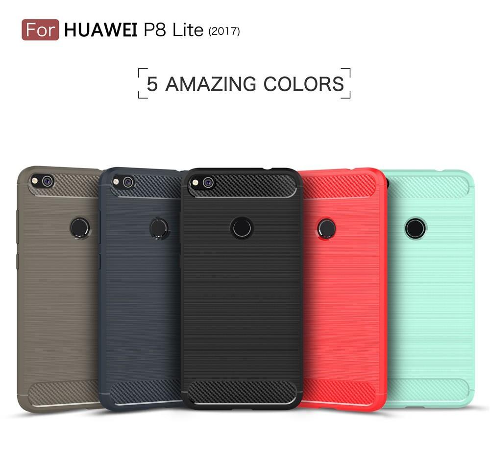 New Carbon Fiber Armor Case For Huawei P8 Lite 2017,Phone Cover For Huawei P8 Lite 2017 - Buy Case For Huawei P8 Lite,Carbon Fiber Phone Case,For P8 ...