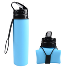 BPA Free Silicone Collapsible Travel Bottle with Nozzle