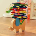 colorful stick balance Elephant beam balance game baby toys good gift for baby kids children toy