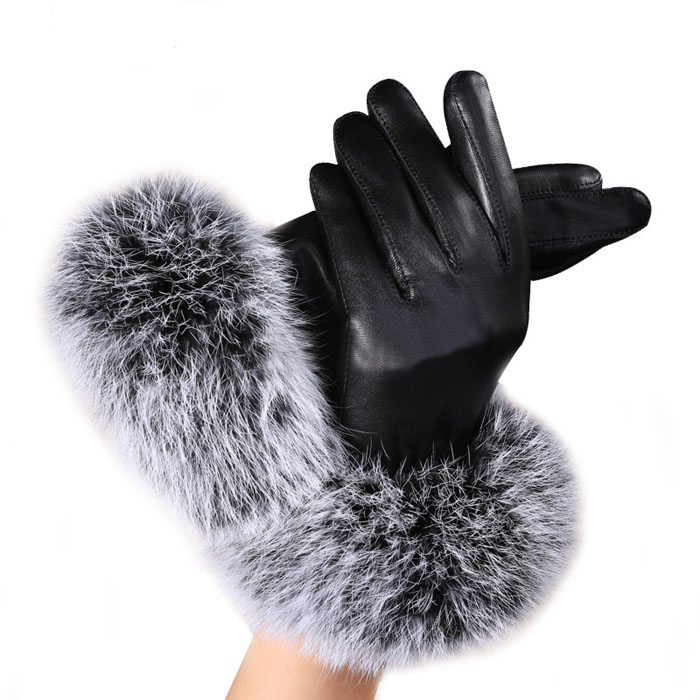c77657ad1 Men&'s Gloves Cheap Men&'s Gloves Women Lady Black sheepskin Leather.We  offer the best wholesale price, quality guarantee, professional e-business  service ...