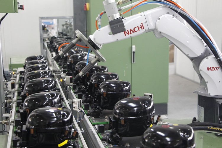 ice maker parts compressor L-GQR30TZD R134a compressor MBP 165W