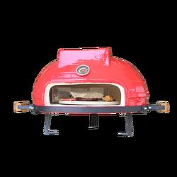 Mini ego Shape Ceramic Charcoal Pizza Oven Auplex Barbecue Grill